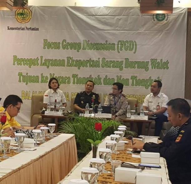 FGD bersama Balai Karantina International Airport Semarang